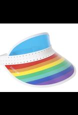 Retro Sun Visor Rainbow