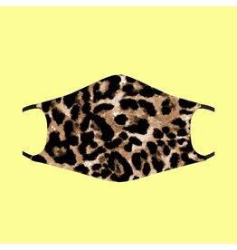Fashion Face Mask - Leopard Print - Adult