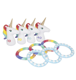 Inflatable Ring Toss Set - Unicorn