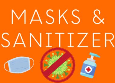 Masks & Sanitizer