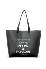 Vegan Leather Tote - Classy & Fabulous