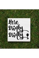 Here Drinky Drinky Napkins