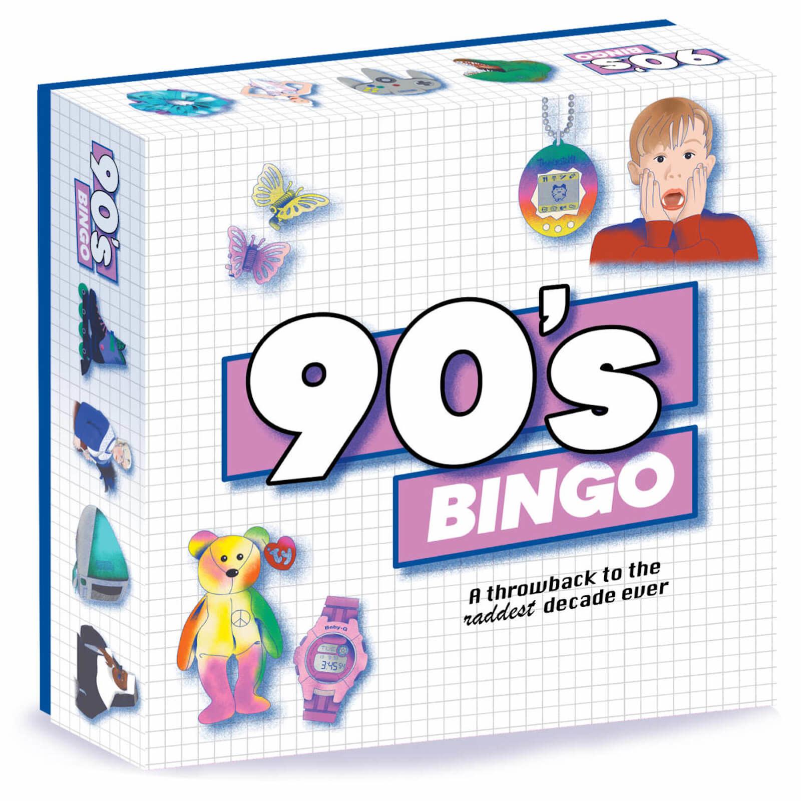 90's Bingo - A Throwback to the Raddest Decade Ever
