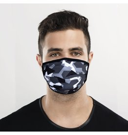 Fashion Face Mask - Edgy Camo - Adult