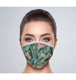 Fashion Face Mask - Palms - Adult