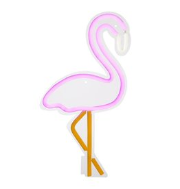 Sunnylife Large Flamingo Neon LED Wall Light