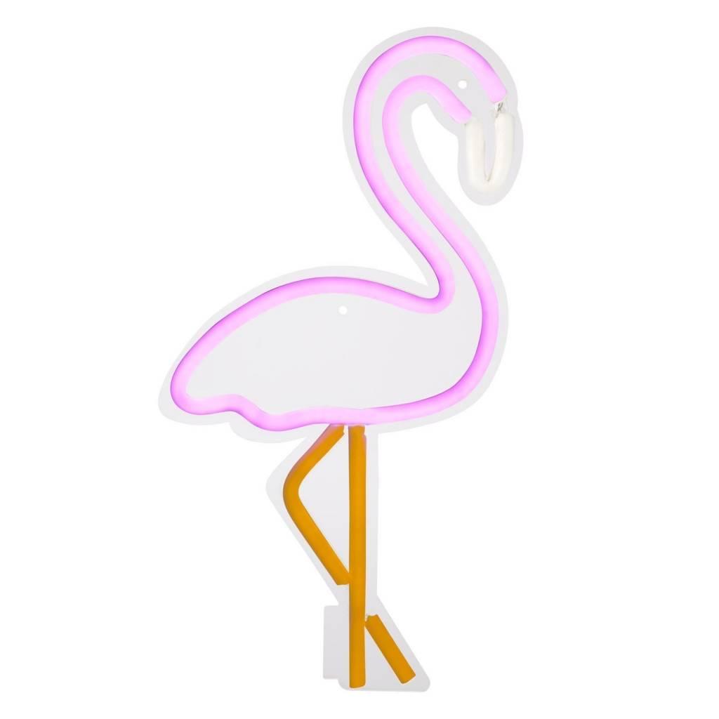 Sunnylife Large Flamingo Neon LED Wall Light