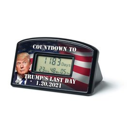 Trump's Last Day Election Countdown Timer