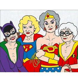 Trevor Wayne Golden Heroes 11x14 Print