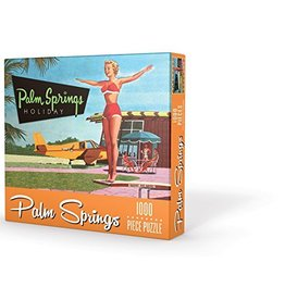 gibb smith Palm Springs Holiday Puzzle