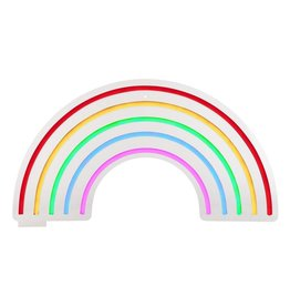 Sunnylife Large Rainbow Neon LED Wall Light