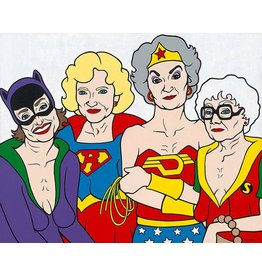 Golden Girls Art- 16 x 20 Image