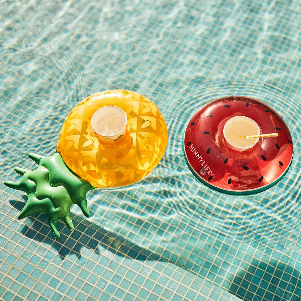 Inflatable Drink Holder - Fruit Salad Set Of 2