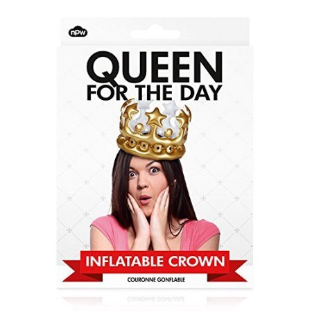 Queen For The Day Blow Up Crown