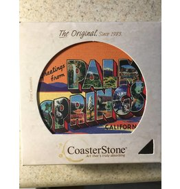 Greetings From Palm Springs Coasters - Boxed