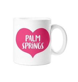 Palm Springs Palm Springs Pink Heart