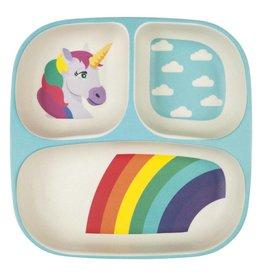 Eco Kids Plate Wonderland