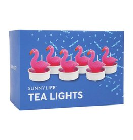 Flamingo Tea Lights Set Of 6