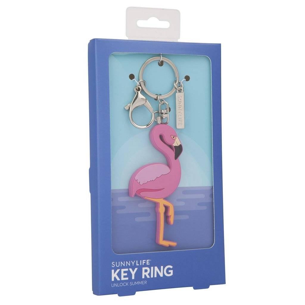 Sunnylife Flamingo Key Ring
