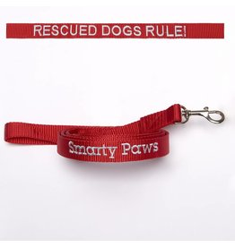 """Rescued Dogs Rule"" Leash"