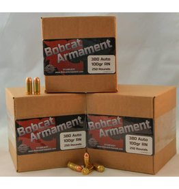 Bobcat Armament 380 Auto -  100gr RN Bulk Packs