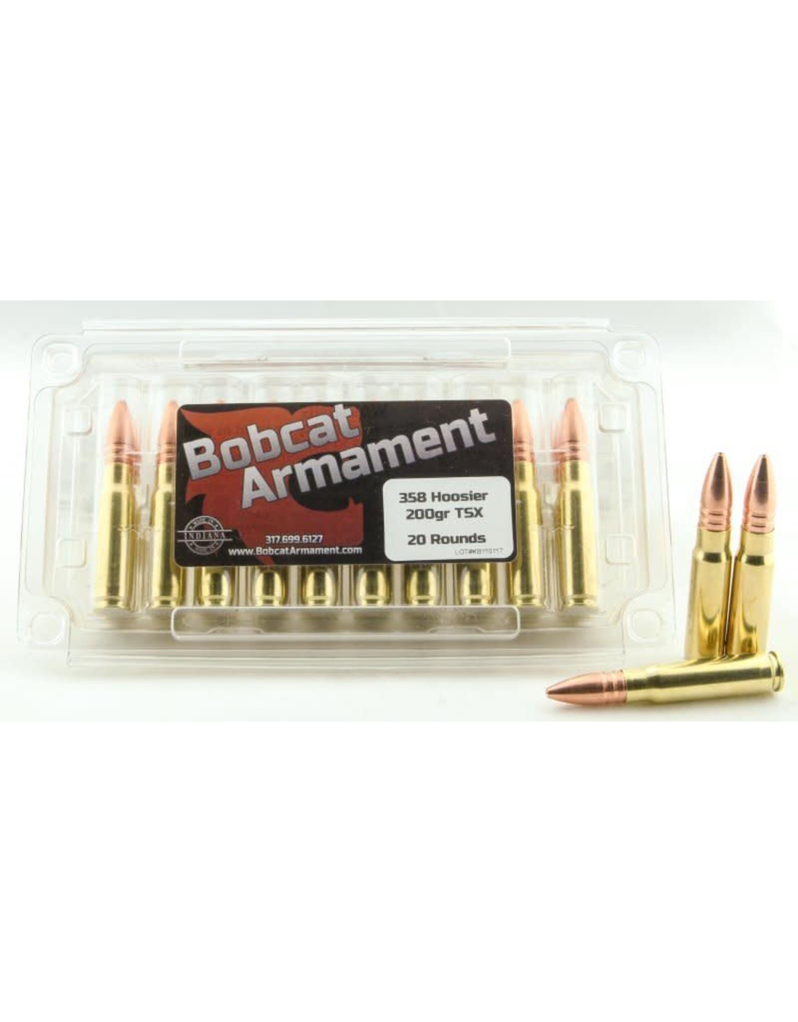Bobcat Armament 358 Hoosier -  200gr TSX 20 count