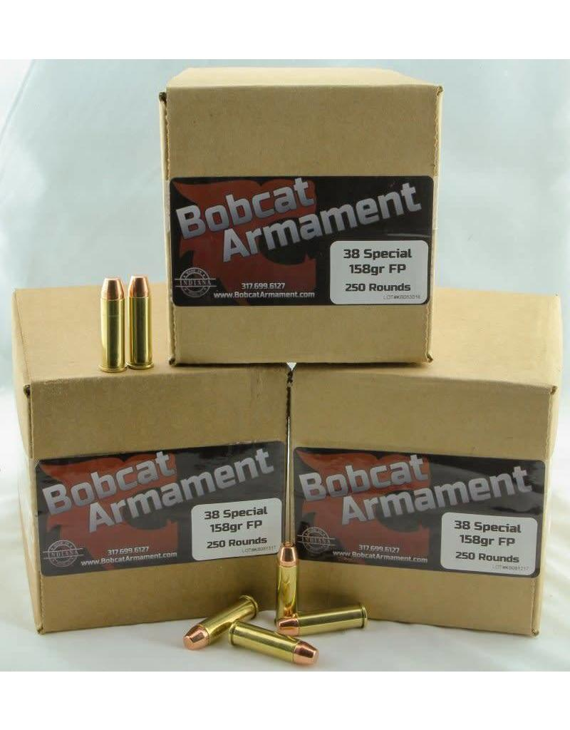 Bobcat Armament 38 Special -  158gr FP Bulk Packs