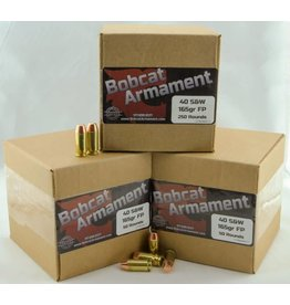 Bobcat Armament 40 S&W -  165gr FP Bulk Packs