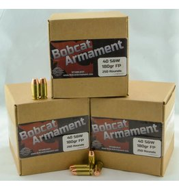 Bobcat Armament 40 S&W -  180gr FP Bulk Packs