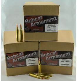 Bobcat Armament 223 Rem -  55gr FMJ Bulk Packs