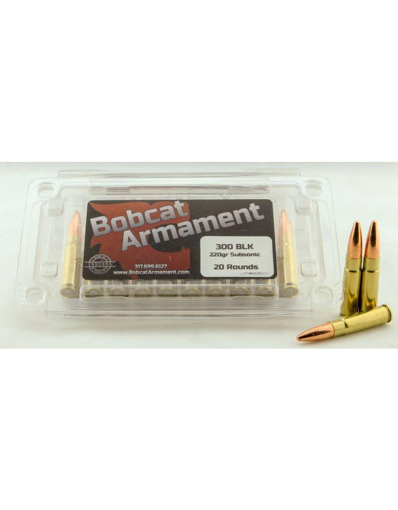 Bobcat Armament 300 Blackout -  220gr Subsonic 20 count