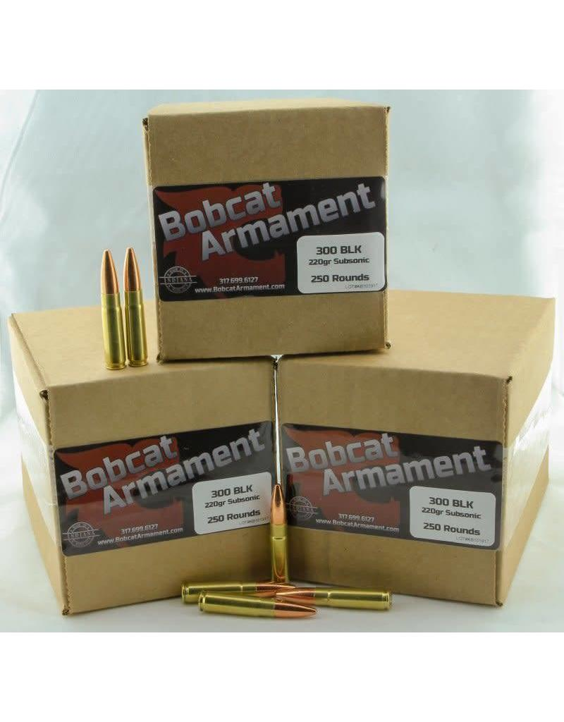 Bobcat Armament 300 Blackout -  220gr Subsonic Bulk Packs
