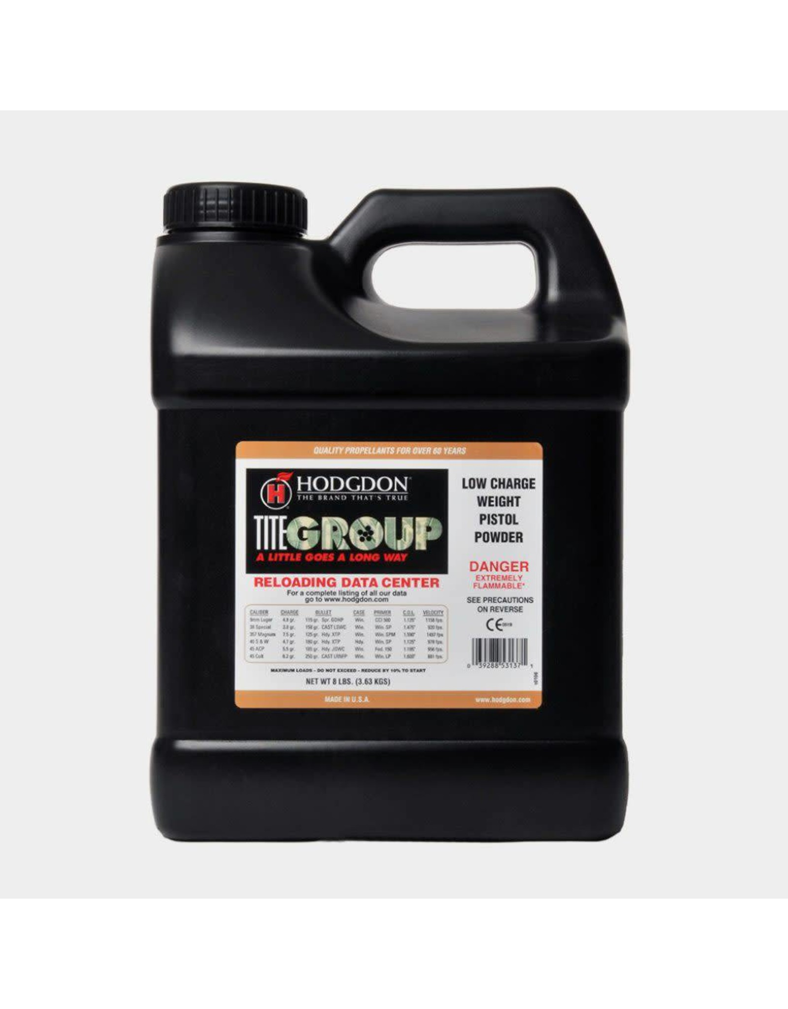 Hodgdon Hodgdon Titegroup -  8 pound