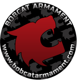 "Bobcat Armament Sticker - 3"" Round"