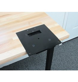 Inline Fabrication Inline Flush Mount Quick Change Base Plate