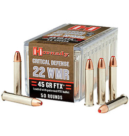 Hornady Hornady - 22 Mag - 45gr FTX Critical Defense - 50ct