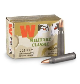 Wolf Wolf - 223 Rem - 62gr HP Military Classic - 20ct