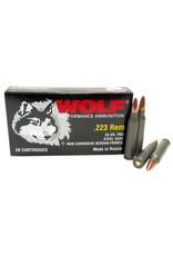 Wolf Wolf - 223 Rem - 55gr FMJ Performance - 20ct