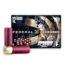 "Federal Federal - 12ga 3"" Buck - Mag #00-15 - 5ct"
