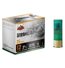"""Cascade Ammo Cascade - 12ga 2-3/4"""" Buck Strong Arm - #00-9 - 25ct"""