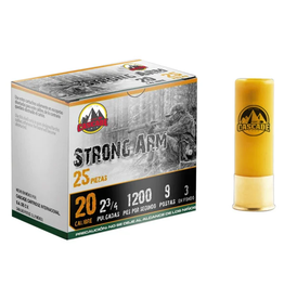 "Cascade Ammo Cascade - 20ga 2-3/4"" Buck Strong Arm - #2B-9 - 25ct"