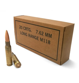 Lake City Lake City - 7.62x51 - 175gr M118LR - 20ct