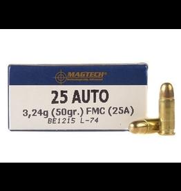 Magtech Magtech - 25 ACP - 50gr FMJ - 50ct