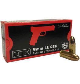 Geco Geco - 9mm - 115gr FMJ DTX - 50ct