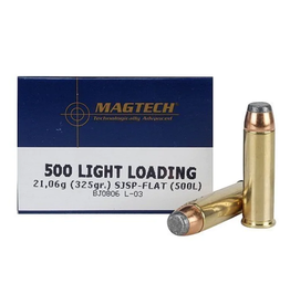Magtech Magtech - 500 S&W - 325gr SJSP (Low Recoil) - 20ct