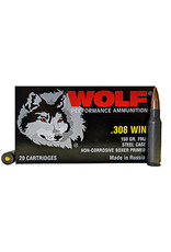 Wolf Wolf - 308 Win - 150gr FMJ Performance - 20ct