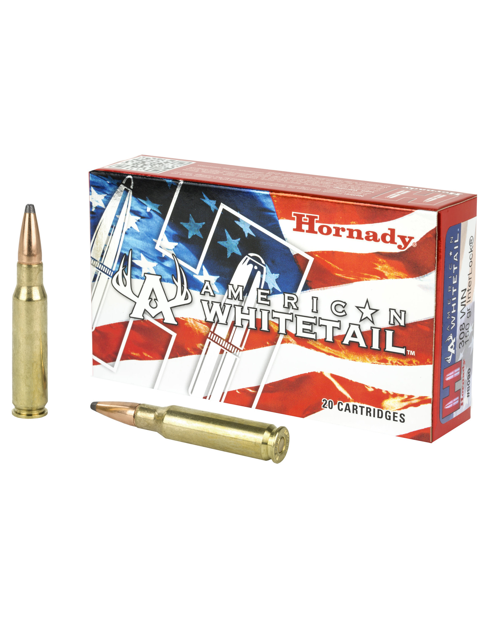 Hornady Hornady - 308 Win - 150gr SP American Whitetail - 20ct