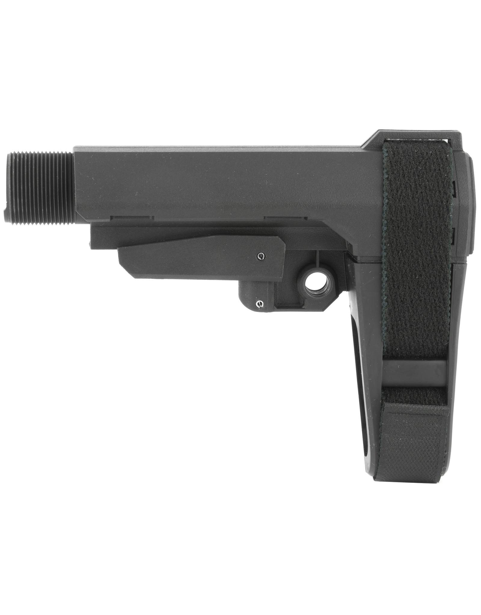 SB Tactical SB Tactical - SBA3 5-pos w/ extension - Black