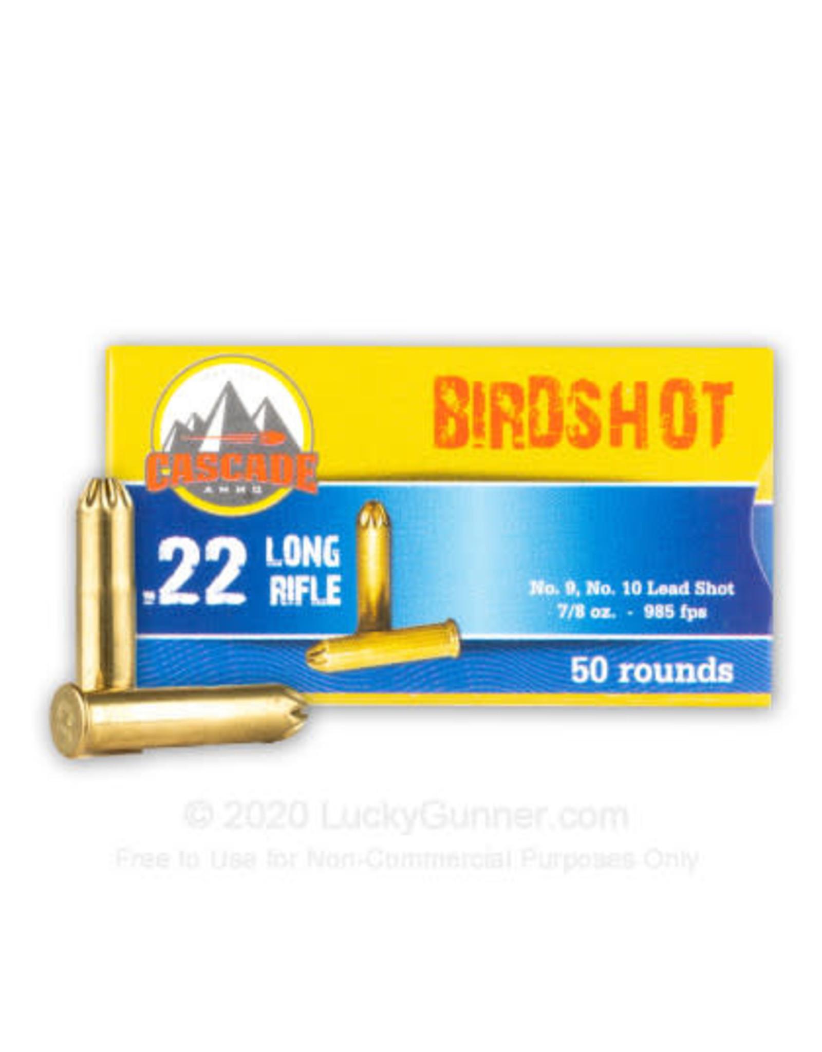 Cascade Ammo Cascade - 22LR Birdshot - #9 - 500ct
