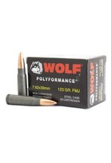 Wolf Wolf - 7.62x39 - 123gr FMJ Polyformance - 20ct